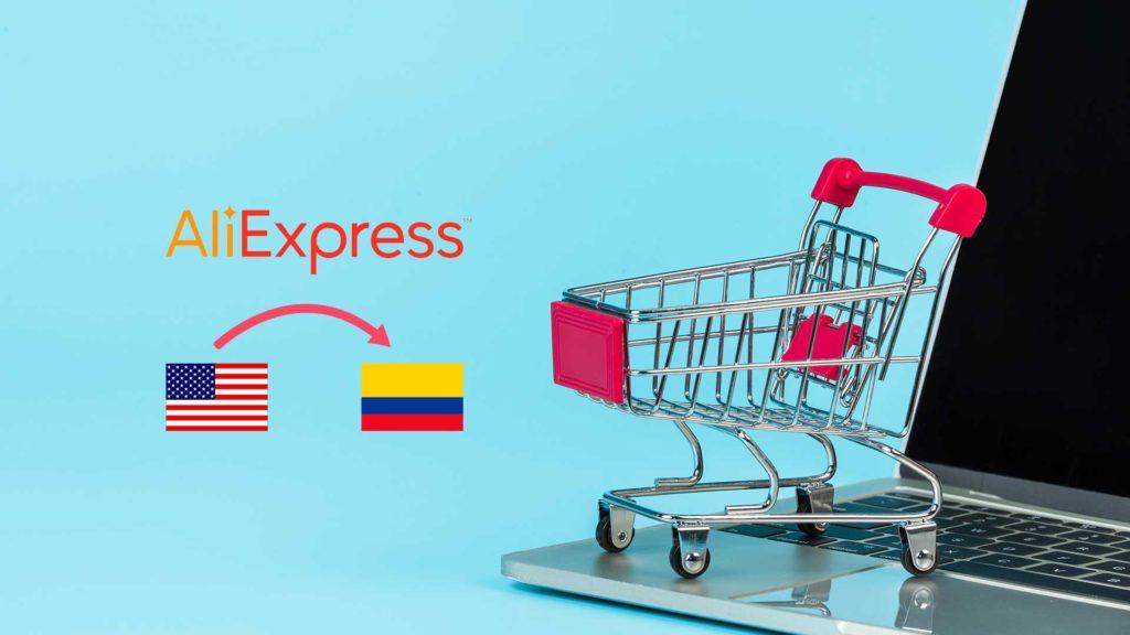 vende en colombia desde estados unidos con aliexpress